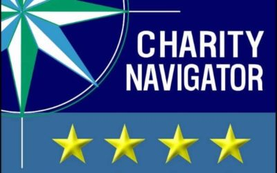 4 out of 4 Stars on Charity Navigator!